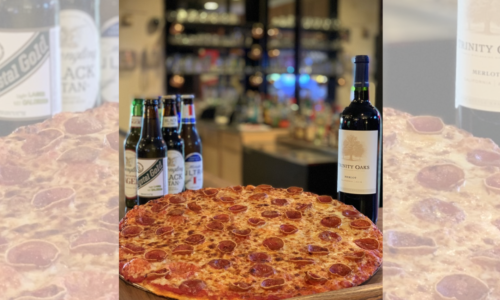 Pizza, Wine and Beer Package Add On