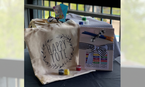 Happy Painters Tote Package Add On