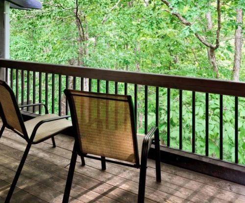 Guestroom Deck View