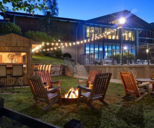 Outdoor Cantina with Fire Pit