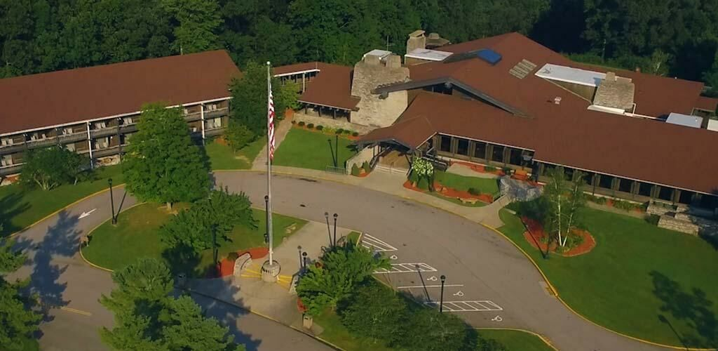 Aerial View of the Shawnee Lodge